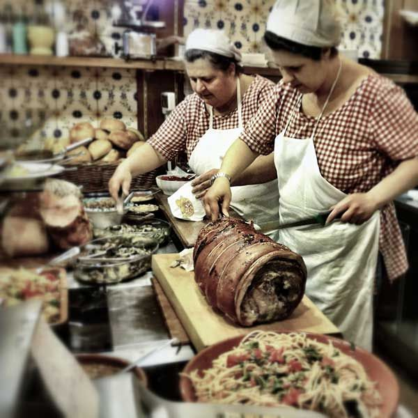 Delicious porchetta on the wine and food tour from Walks of Italy in Florence