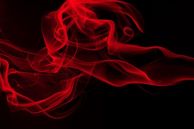 Red Smoke Abstract On Black Background Fire Design And Darkness Concept Red Smoke Smoke Background Red Aesthetic