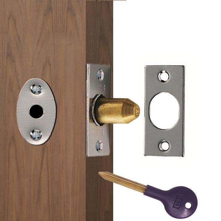 Lock and key for bedroom door