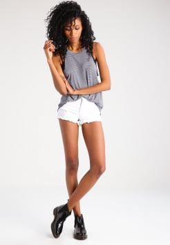 LTB - PAMELA - Jeans Shorts - white orchid wash