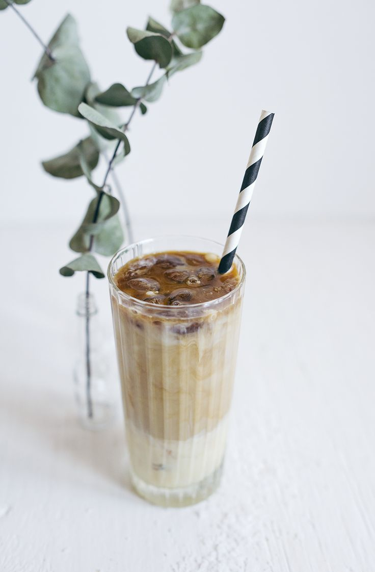 recept salted caramel iced coffee