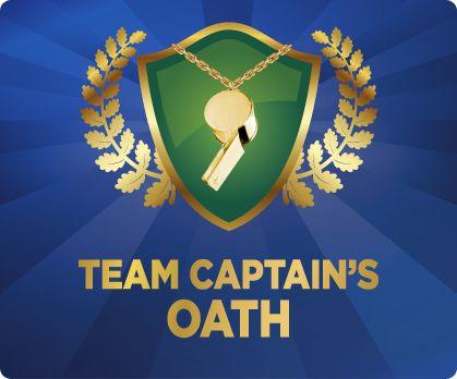 My GCC Team Captain Oath