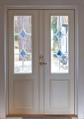 Pardörr PD 22 helfransk, Allmoge fönster