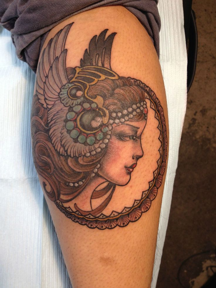 Valkyrie Tattoo done by Lara at East Side Ink in NYC, NY - Imgur