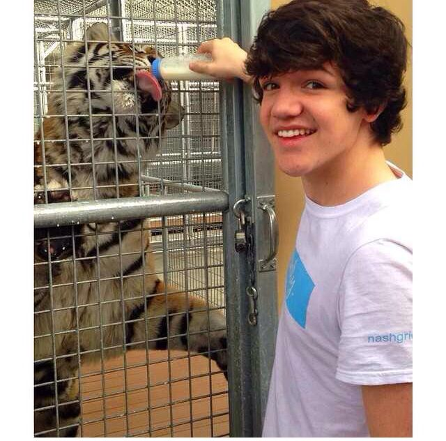 Aaron carpenter is perfection