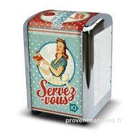 """Distributeur de serviettes """" Miss Fifties """""""