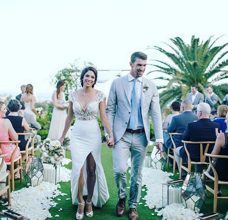 Michael Phelps and Nicole Johnson and Michael Phelps married in 2016