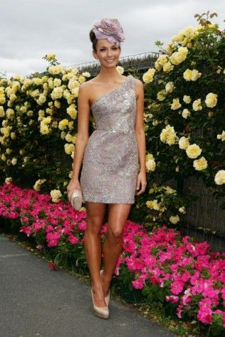 Ricki-Lee Coulter on Melbourne Cup Day