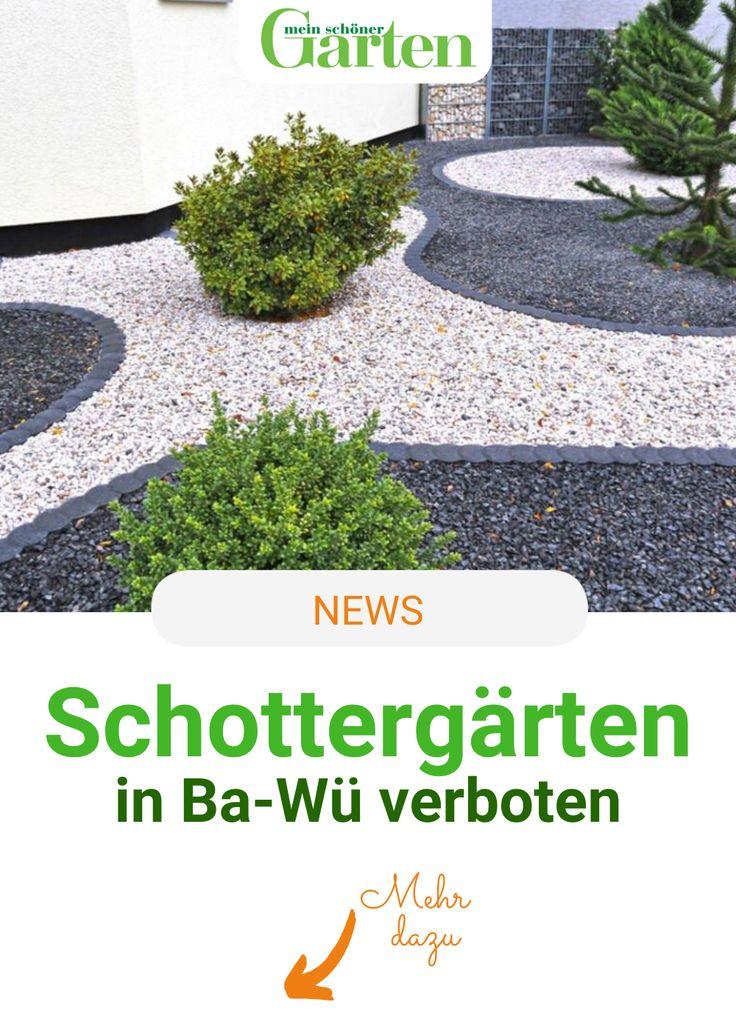 Schottergärten Baden Württemberg