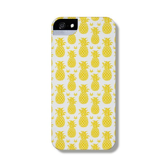 Pineapples Summer iPhone 5 protective phone case