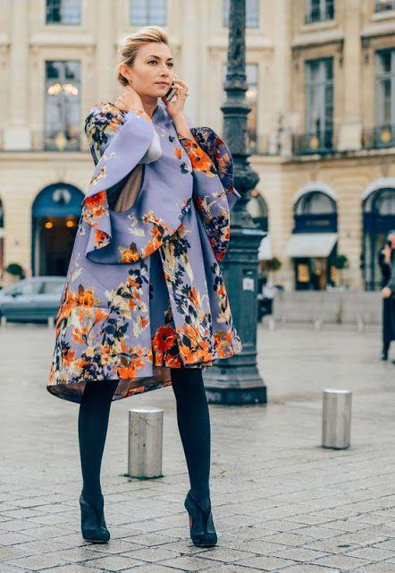 #jacket #colors #flowers #city #lilac #pattern #details #fashion