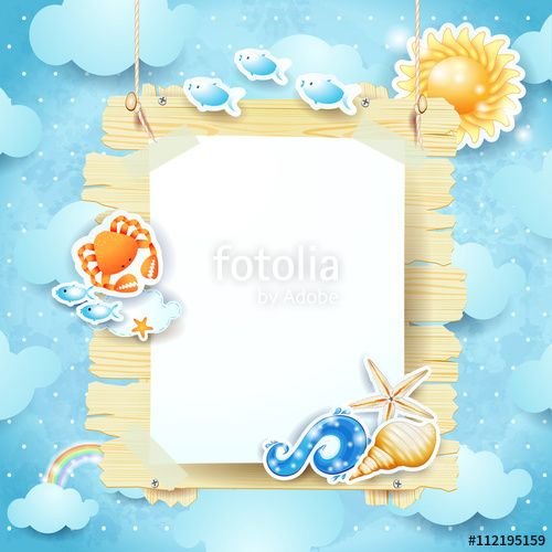 Nuovo #vettoriale su #Fotolia! :) New #vector at #Fotolia! #summer #beach #signboard #panel #sign #shell #holiday #vacation #sea #sky #fantasy https://us.fotolia.com/id/112195159?by=serie