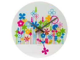 Všetko pre modernú domácnosť | homedesignsk.sk - Hodiny na stenu Karlsson Flowers