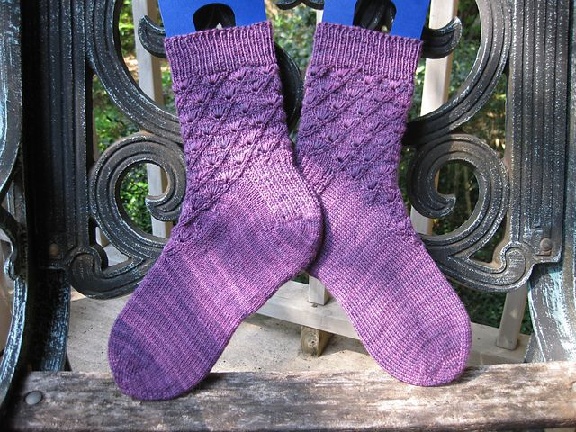 Ravelry: Argus Panoptes pattern by Rachel Brown: Round 6, Sock Madness 2011