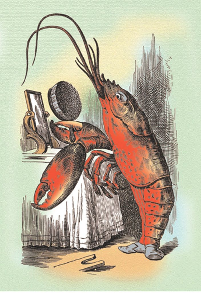 The Lobster Quadrille - Through the Looking Glass, by John Tenniel   Alice   Pinterest