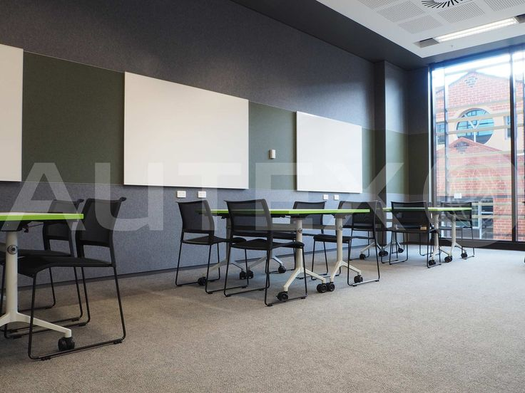 Autex Acoustics - Cube™ - University of Sydney, Australia  - Direct fixed to wall - Colour: Flatiron - Acoustics in Education - Modern Learning Environment