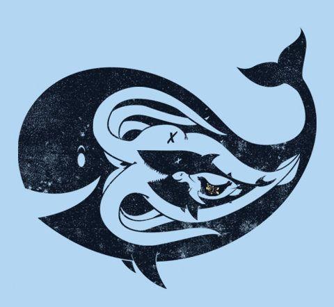 trophic transfer hahaSplendid Suppers, Sea Creatures, Ocean Tattoo, Food Chains, Circles Of Life, Illustration, Art Prints, Thomas Sullivans, The Sea