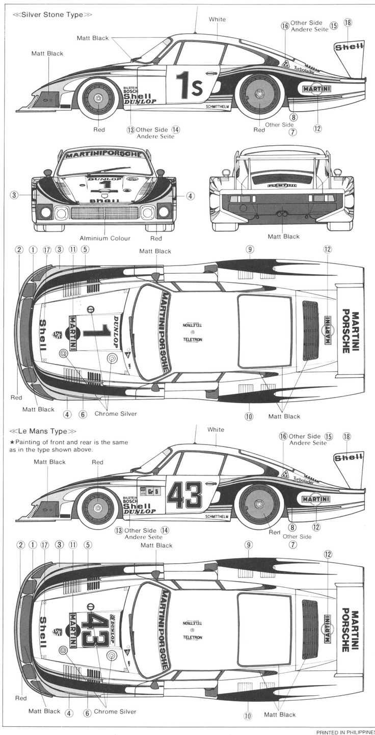 porsche 935 illustrations
