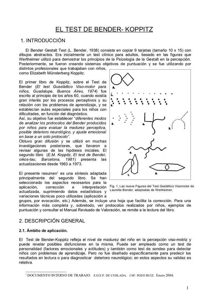 test-de-bender-7523305 by Natalia Suarez via Slideshare
