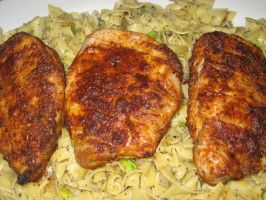 Boneless Pork Chops With Spicy Rub  this was yummy...used pork loin end cutlets...quick easy and delicious!
