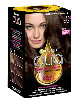 Garnier Olia 5 0 Medium Brown Without Other Reflects