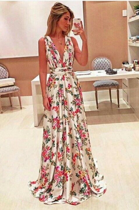 Supernatural Style | https://pinterest.com/SnatualStyle/  Beautiful summer dress