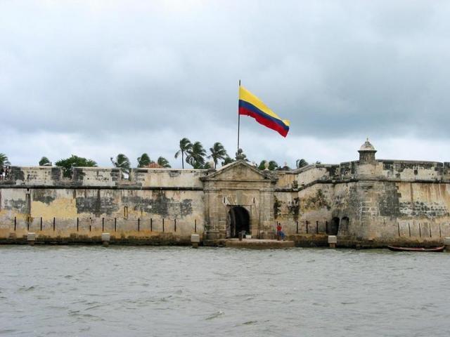 ISLA DEL ROSARIO. COLOMBIA
