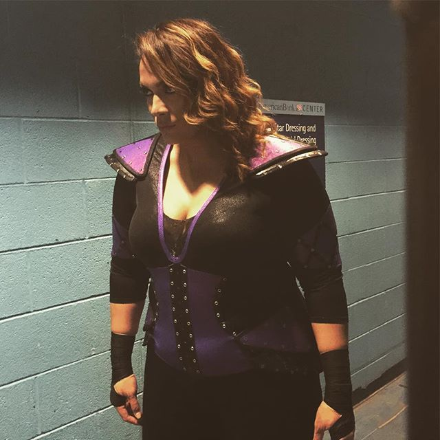 The most dominant, the most dangerous...@niajaxwwe is up NEXT on #Raw! #WWE