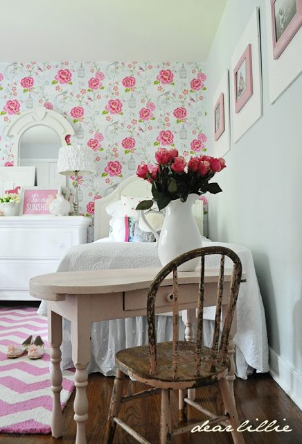 Lillie and Lola's New Room (Not Quite Finished But Getting There!) by Dear Lillie