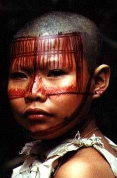 Niña, tribu Nukak Makú, Guaviare, Colombia Google Images