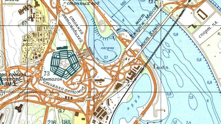 Советские Google Maps и Wikipedia: как СССР секретно разрабатывал детальные карты США и других стран