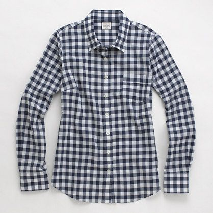 Factory classic button-down in plaid - washed shirts - FactoryWomen's Shirts & Tops - J.Crew Factory