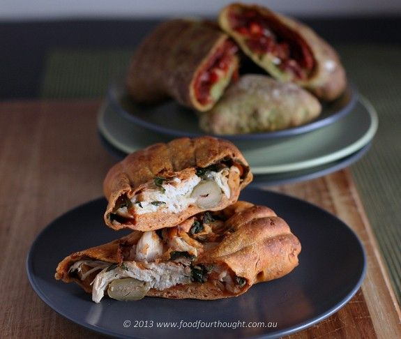 Delish - #Pizza Pockets made with your #Thermomix
