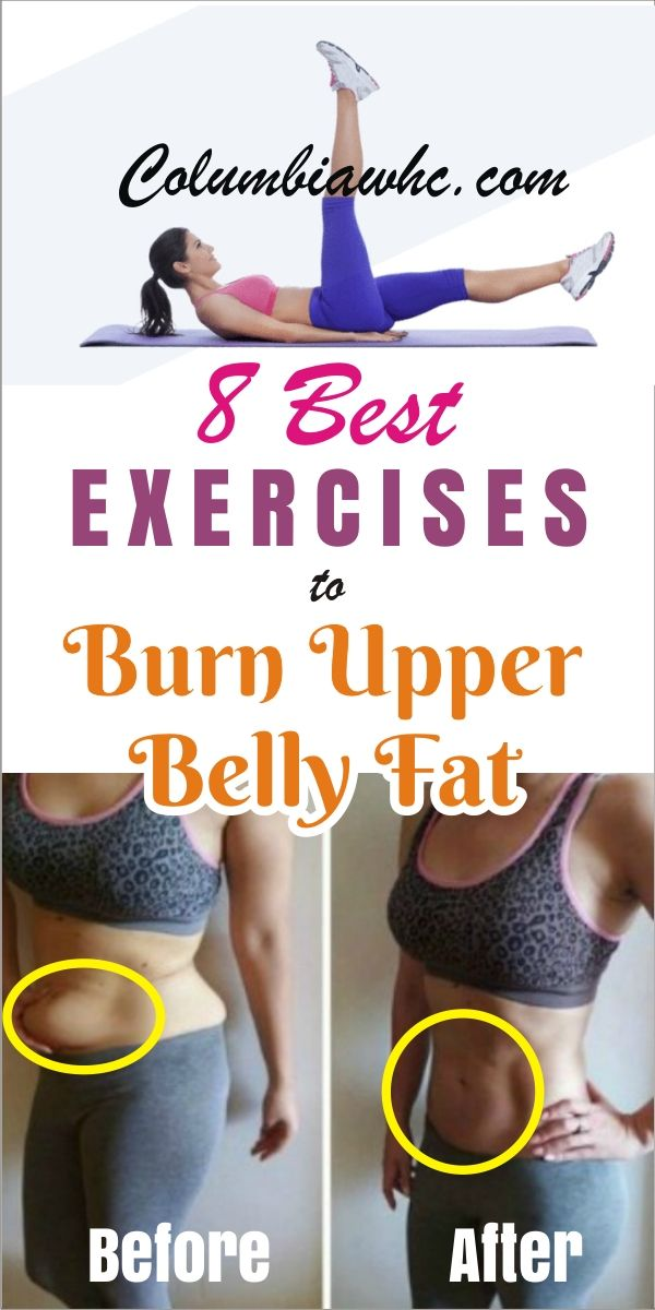 how can i lose my upper belly fat