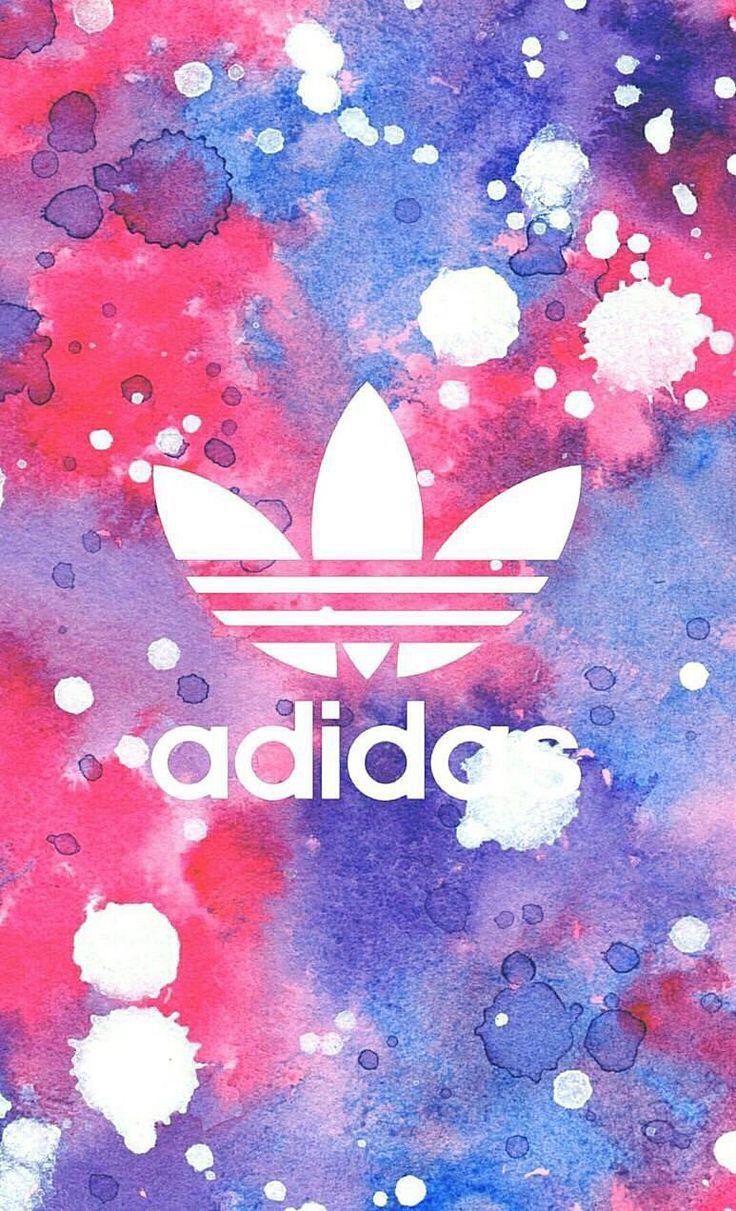 Adidas Fond D Ecran Iphone Wallpaper Tendance Logo Tache De Peinture Adidas De Decra Adidas Fond Fond D Ecran Telephone Fond D Ecran Colore