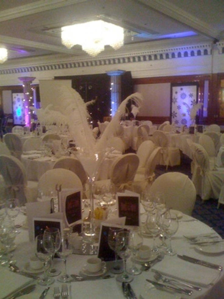 A Decorated Ice Room