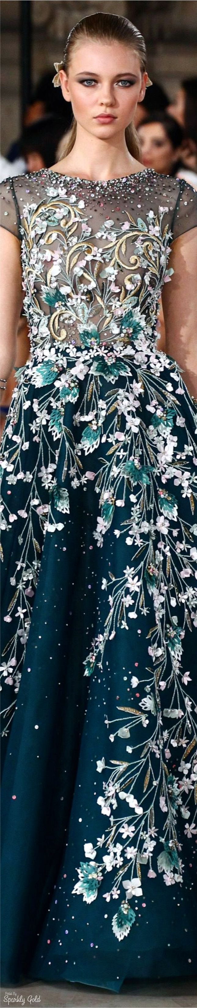 Georges Hobeika Fall 2016 Couture Clothing, Shoes & Jewelry : Women : Clothing : Active : gym http://amzn.to/2lL2x3Ehttp://www.orientpalms.stfi.re/Georges-Hobeika-6233?sf=nabzgpv