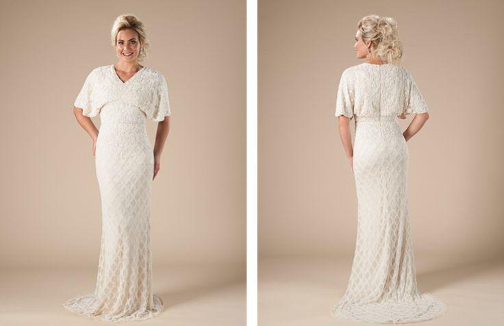 14 best plus size modest wedding dresses images on for Plus size wedding dresses utah