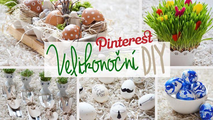 Velikonoční DIY dekorace | 6 tipů | Pinterest Inspired