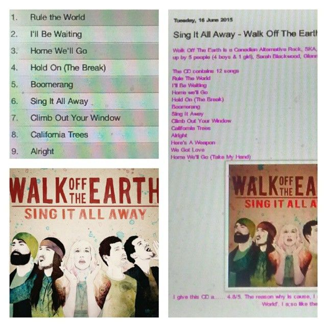 Check out my review on Walk Off The Earth's CD http://iheartcelebrities519.blogspot.ca/2015/06/sing-it-all-away-walk-off-earth-music.html