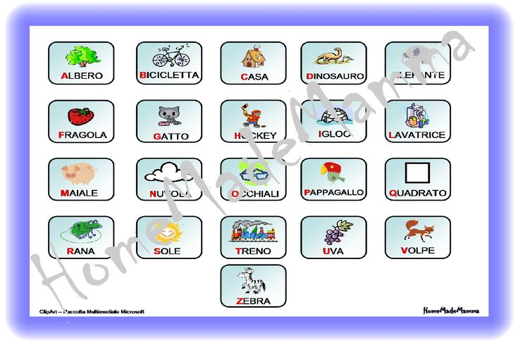 A come Mela: le carte per giocare con l'alfabeto
