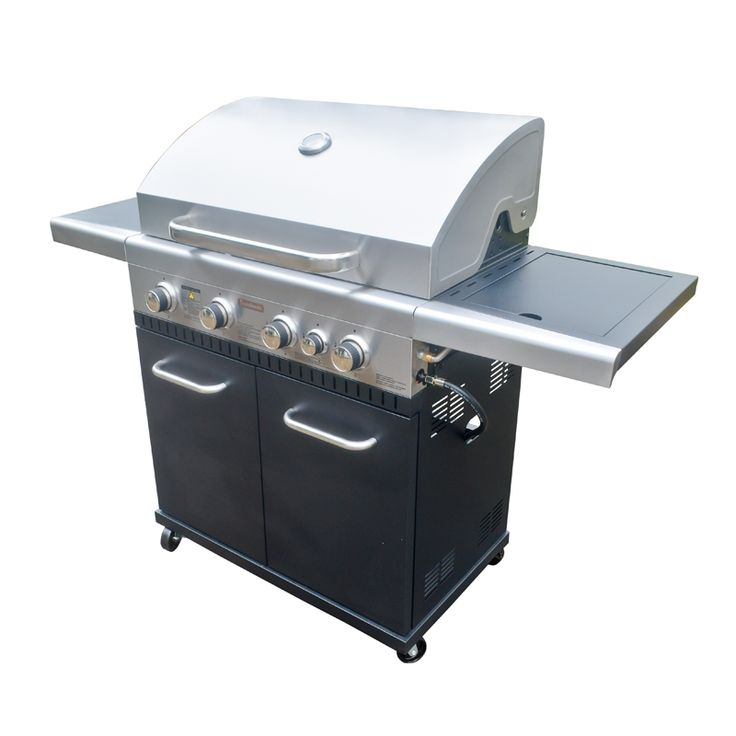 Find Jumbuck 4 Burner Hooded Stardom BBQ with Side Burner at Bunnings Warehouse. Visit your local store for the widest range of outdoor living products.