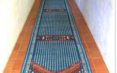 Area Rug Runner Garuda Woven Art Naturally Dyed Tibetan Wool Area Rugs :: Runners