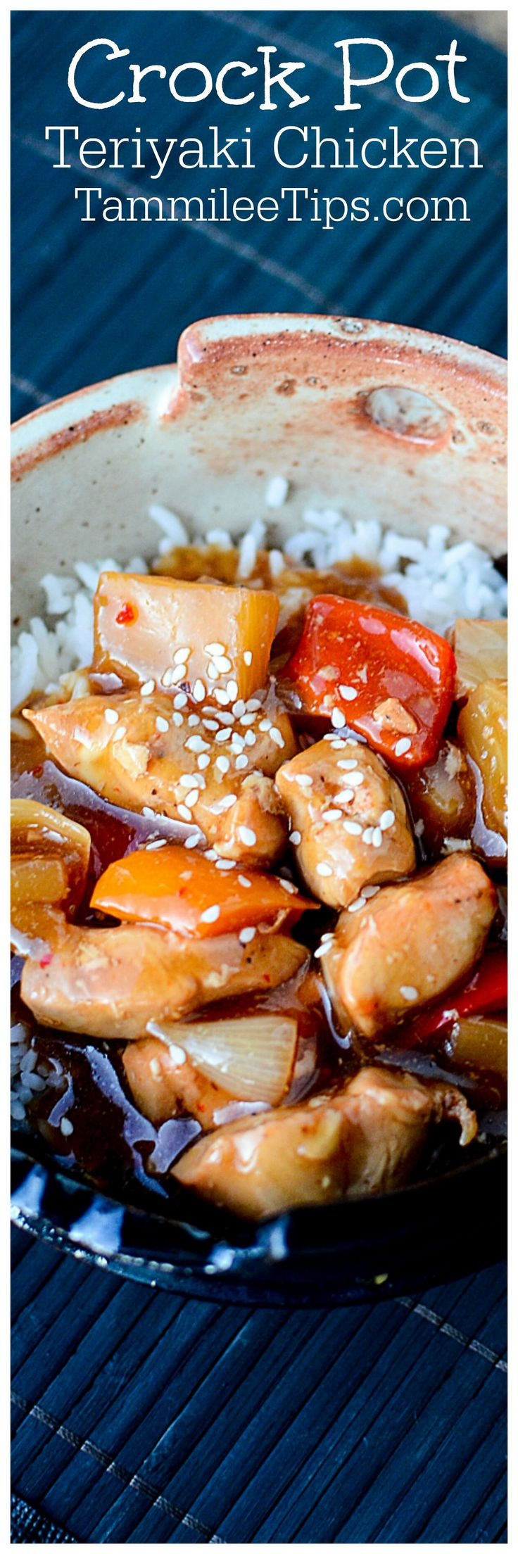 Crock pot teriyaki chicken recipes easy