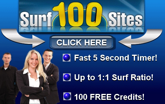 Surf 100 sites, The fastest Traffic since 2006
