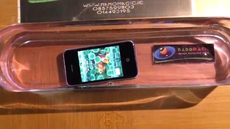 Waterproof your iPhone - Superhydrophobic Coating. - YouTube