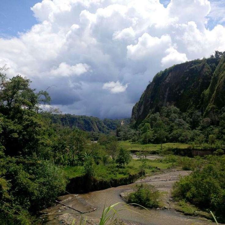 Sianok Canyon, West Sumatra, Indonesia