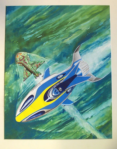Thunderbirds is the Gerry Anderson show that everybody loves but personally I preferred Stingray