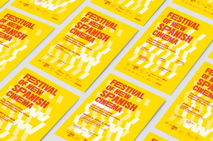 Poster design and communication of the Festival of New Spanish Cinema 2015 and 2016, the most important festival regarding to the Spanish independent cinema in USA An itinerant festival which has been present in five cities around the USA during the 2015 …