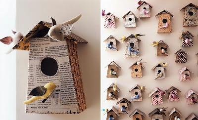 bird houses for girly bedroom